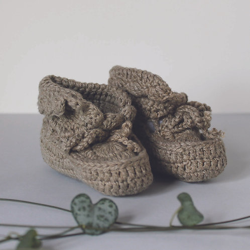 Cosy Cotton Baby Booties