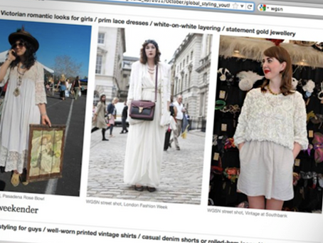 Style spotted on WGSN