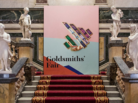 Visiting Goldsmiths' Fair 2014