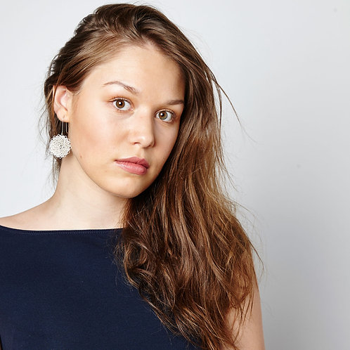 Silver Marisol Earrings - Medium