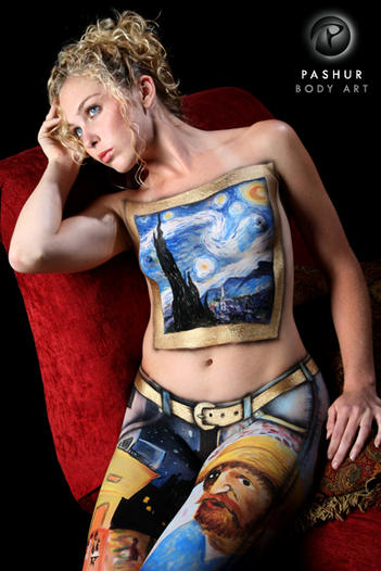 Van Gogh Fashion