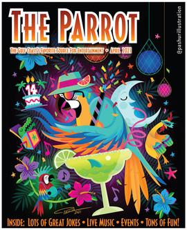 Parrot April 2021 Cover