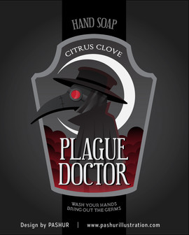 Plague Doctor Hand Soap