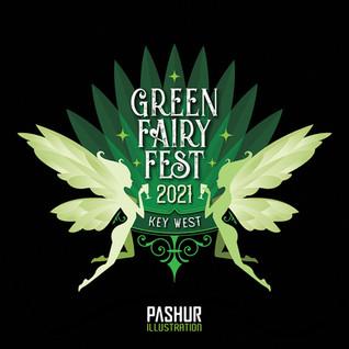 Green Fairy Fest Logo