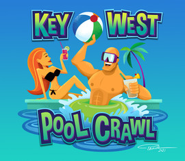 Key West Pool Crawl
