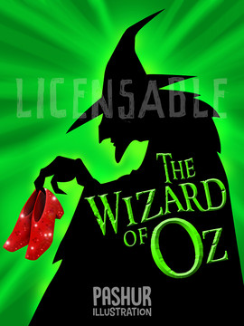 Wizard of Oz Poster Theatrical Play Poster
