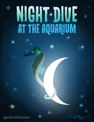 Night Dive at the Aquarium