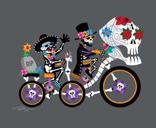 Ghost Riders of Dia de Los Muertos