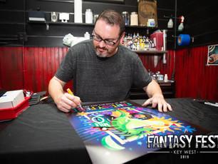 2019 Fantasy Fest Poster Signing