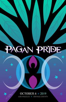 Pagan Pride LA 2019 Poster