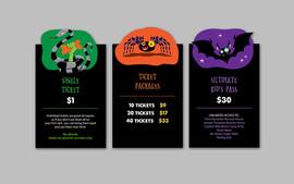 Pumpkin Patch Activity Tickets Signage