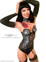 Bettie Page Inspired Lingerie