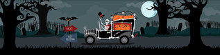 Mr Bones Parks the Car