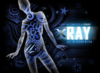 X-Ray Body Art Templates