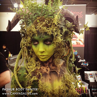 IMATS 2014_Pashur_Body_Painter_Kryolan_T