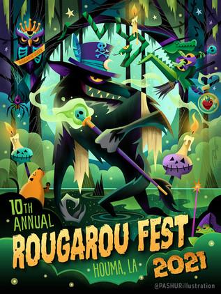 Rougarou Fest Poster