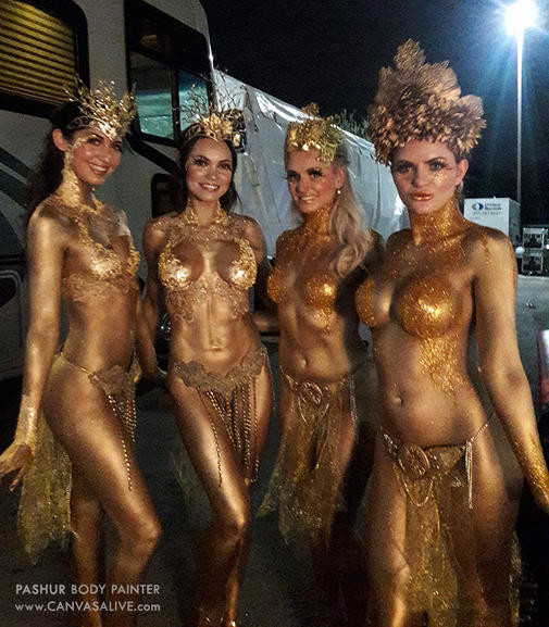 Golden Goddesses - Behind the Scenes