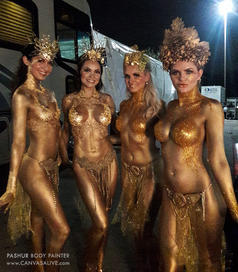 Golden Goddesses - Behind the Scenes