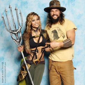 Aquaman Photo Op