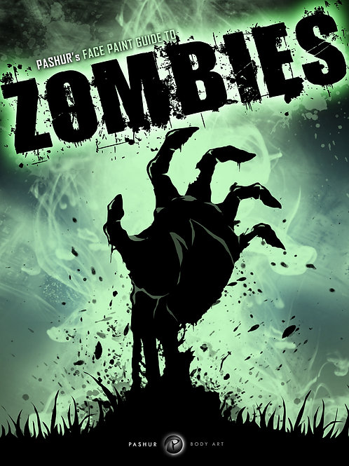 Zombies Face Paint Guide e-Book