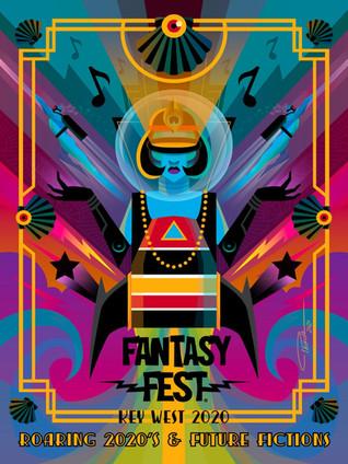 Fantasy Fest 2020 Poster