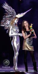 Chrome Angel and Eliza Dushku