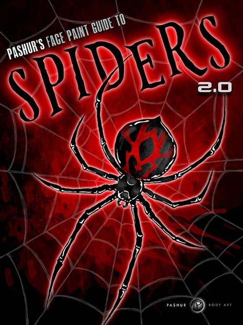Spiders 2.0 Face Paint Guide e-Book