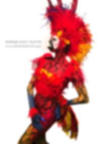 Cirque Berzerk_Scarlet Macaw_Pashur_Body