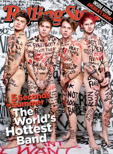 Rolling Stone Magazine - 5 Seconds of Summer