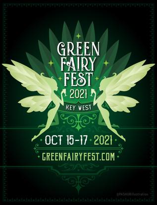 Green Fairy Fest - teaser poster