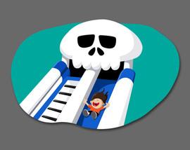 Mr Bones Super Slide