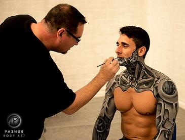 Painting Cyborg