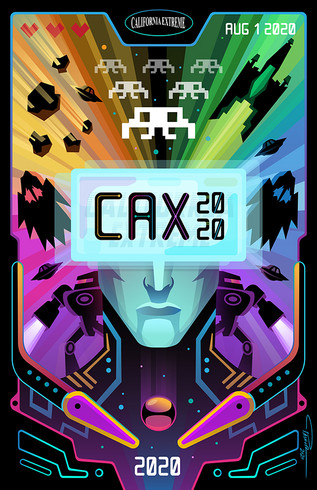CAX 2020 - California Extreme 2020 Poster