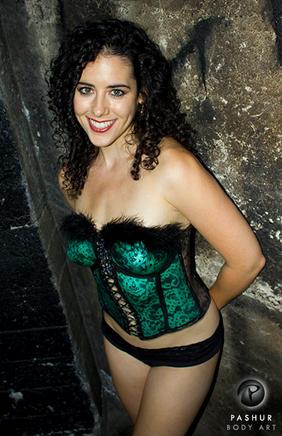 Emerald Corset 1