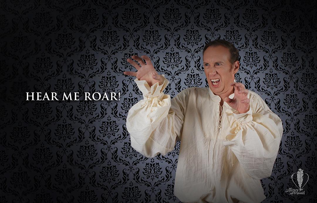 Hear him roar!