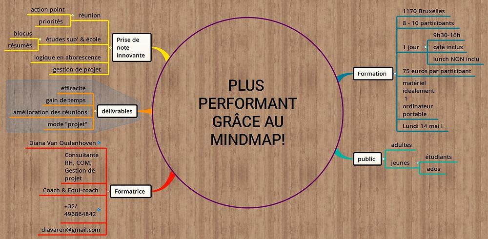 Plus performant grâce au MindMap!