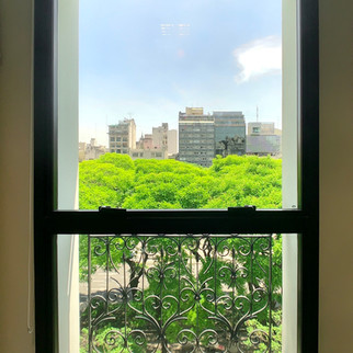 Vista de las oficinas