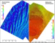 Bathymetric vs water surface model slide