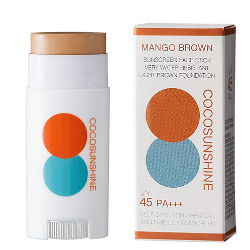 COCOSUNSHINE FACE STICK : MANGO BROWN