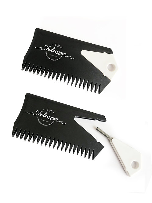 Wax Comb with Fin key