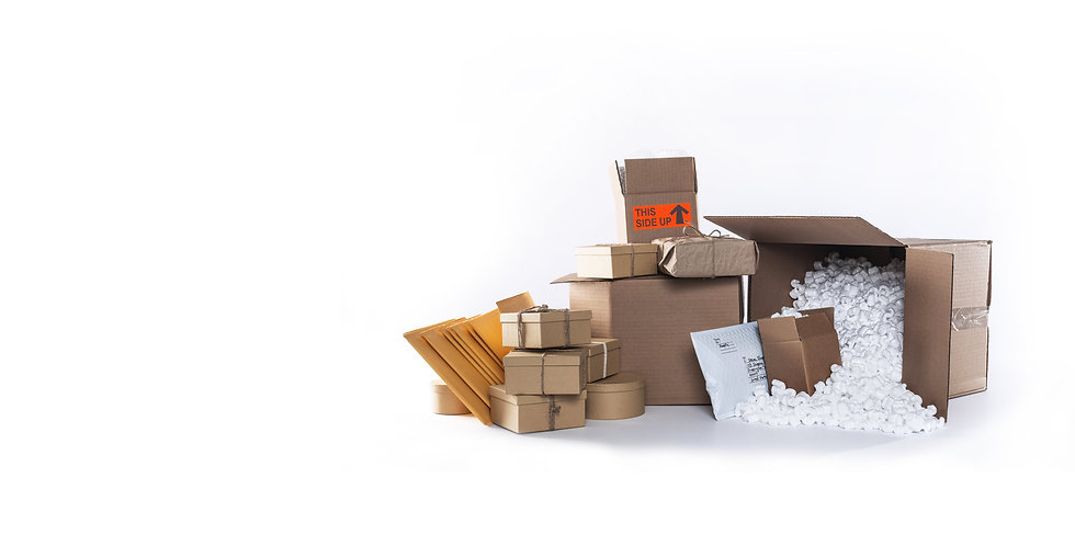 boxes-and-packages-arranged-on-backgroun