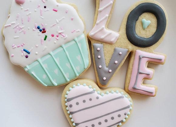 Decorated Sugar Cookies (Saturday Market Pre-Order)