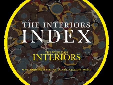 World of Interiors Index