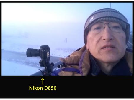 2019年2月十勝川の夜明け「けあらし」撮影風景MAKING