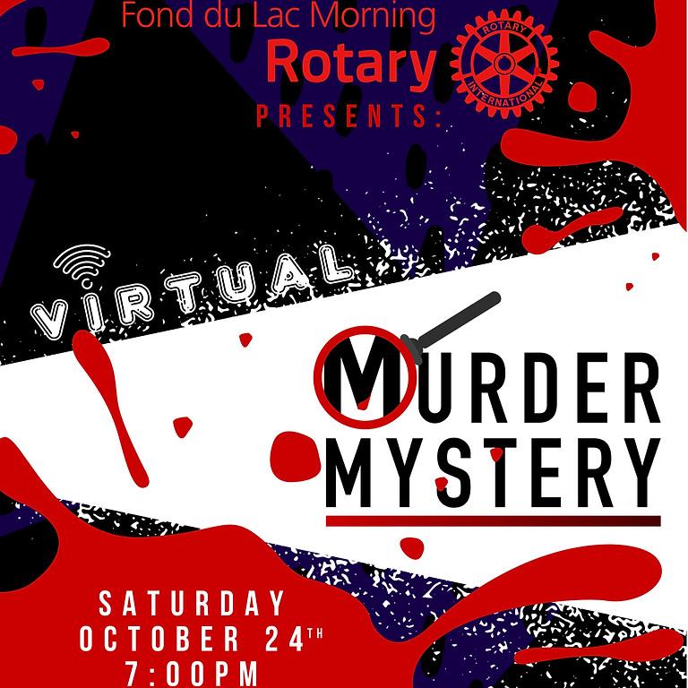 Morning Rotary Virtual Murder Mystery