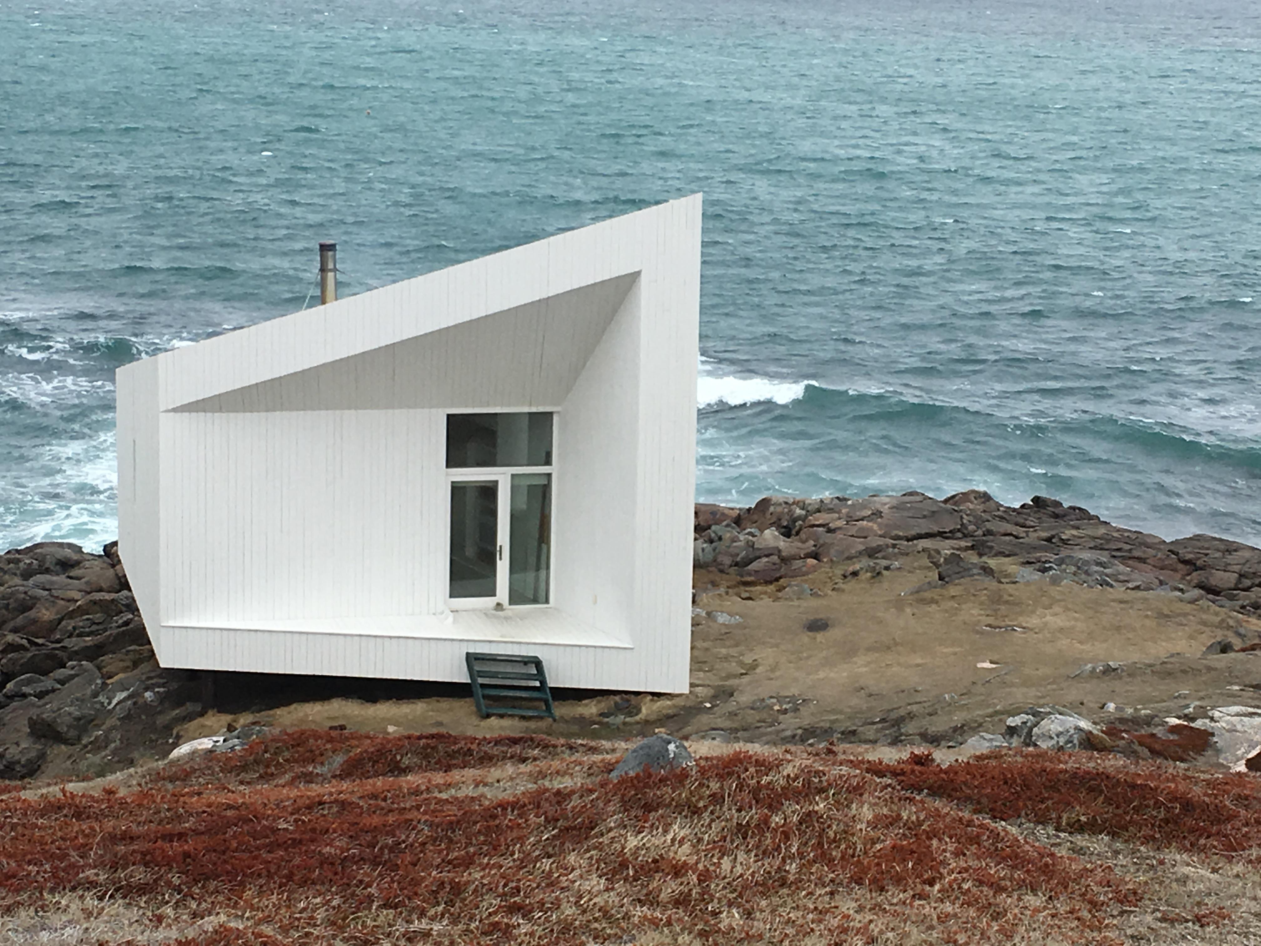 Artist Cabin on Fogo Island