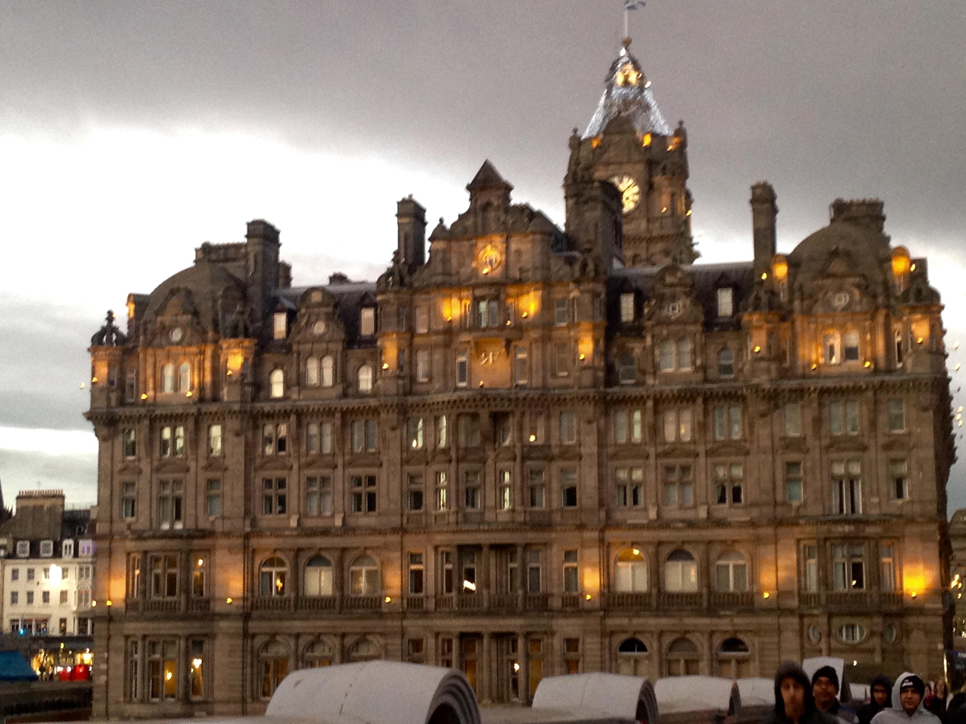 Overnight Stay in Edinburgh