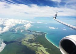 Flight to the Islands, Caribbean