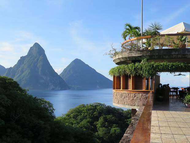 Piton Mountains in St. Lucia