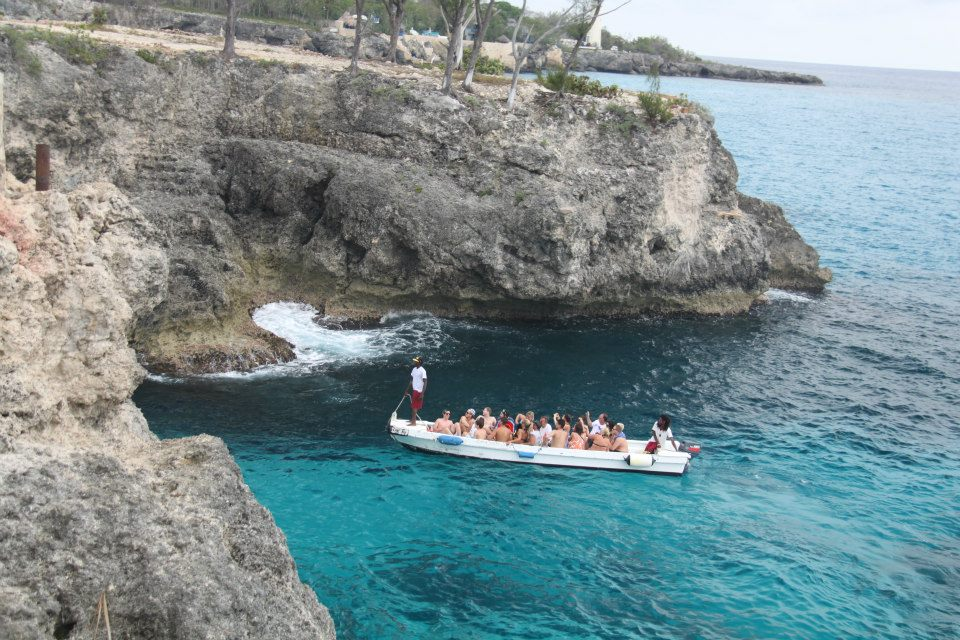 Cliff Jumping, Montego Bay, Jamaica
